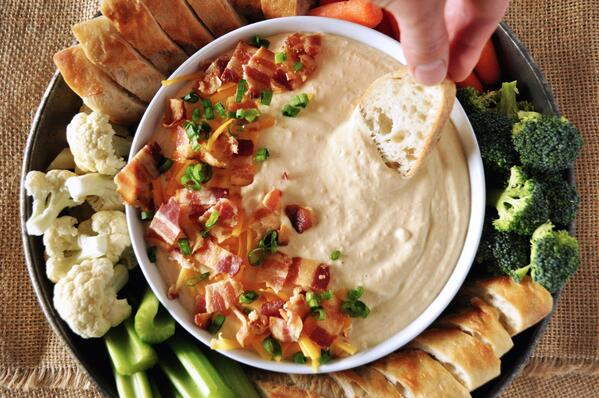1 Beer Cheese Bacon Dip