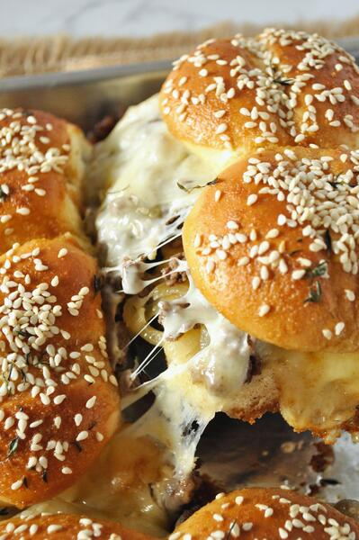 1 French Onion Beef Sliders