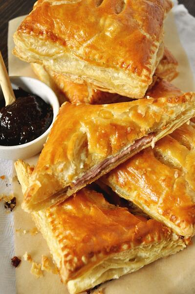 1 Ham and Brie Breakfast Pastries