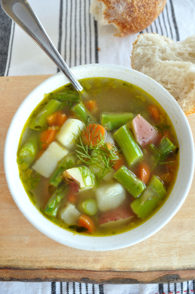 1 Spring Minestrone Soup
