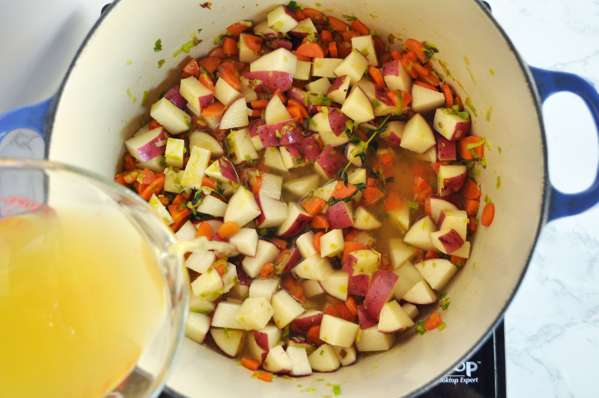 3 Spring Minestrone Soup