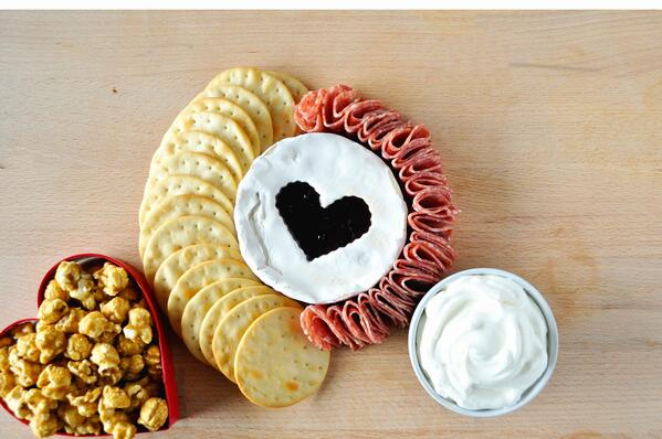 4 Galentines Day Charcuterie Board