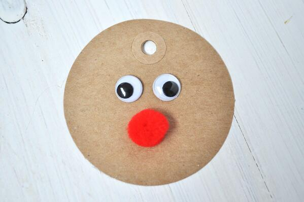 4 Rudolph Gift Tag