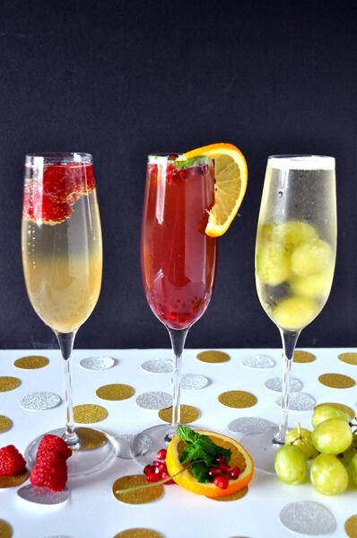 5 Champagne Cocktails