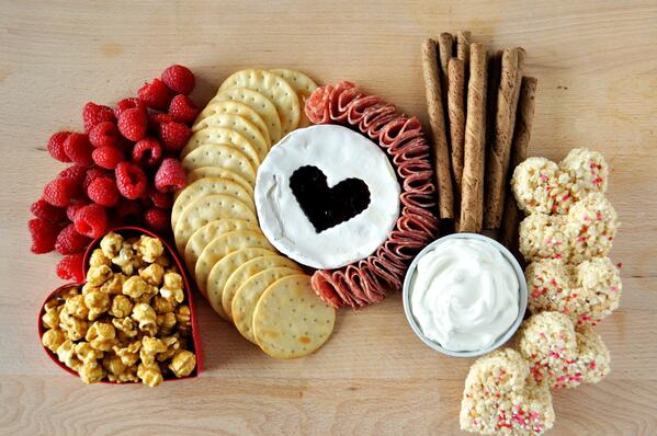 5 Galentines Day Charcuterie Board
