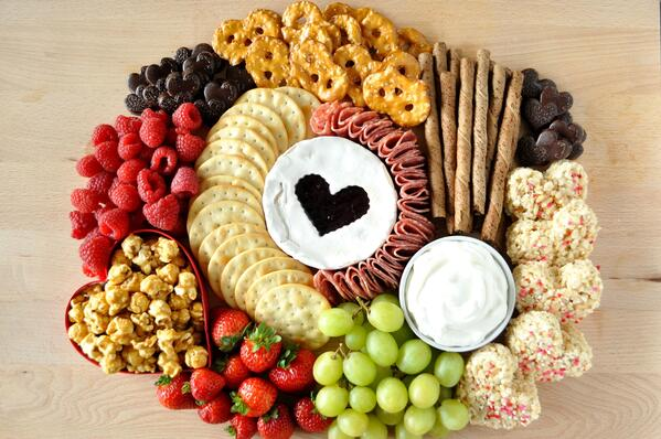 6 Galentines Day Charcuterie Board