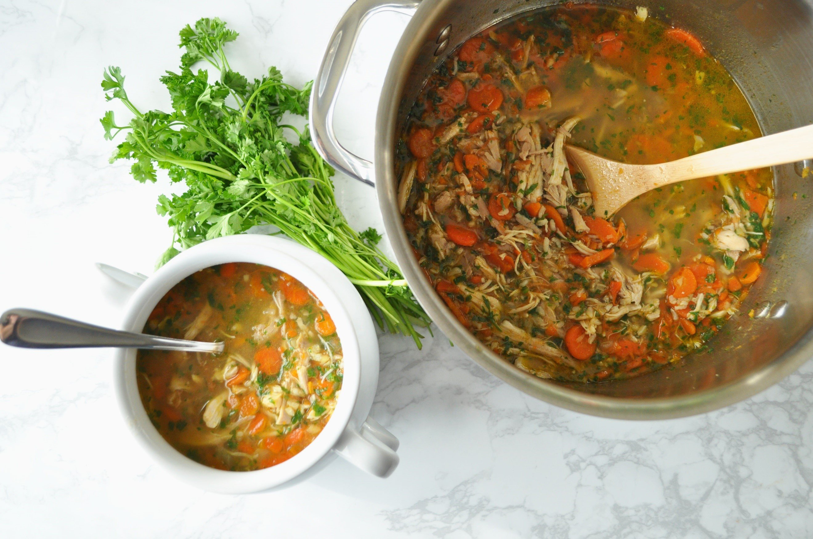 Wellness Chicken Soup