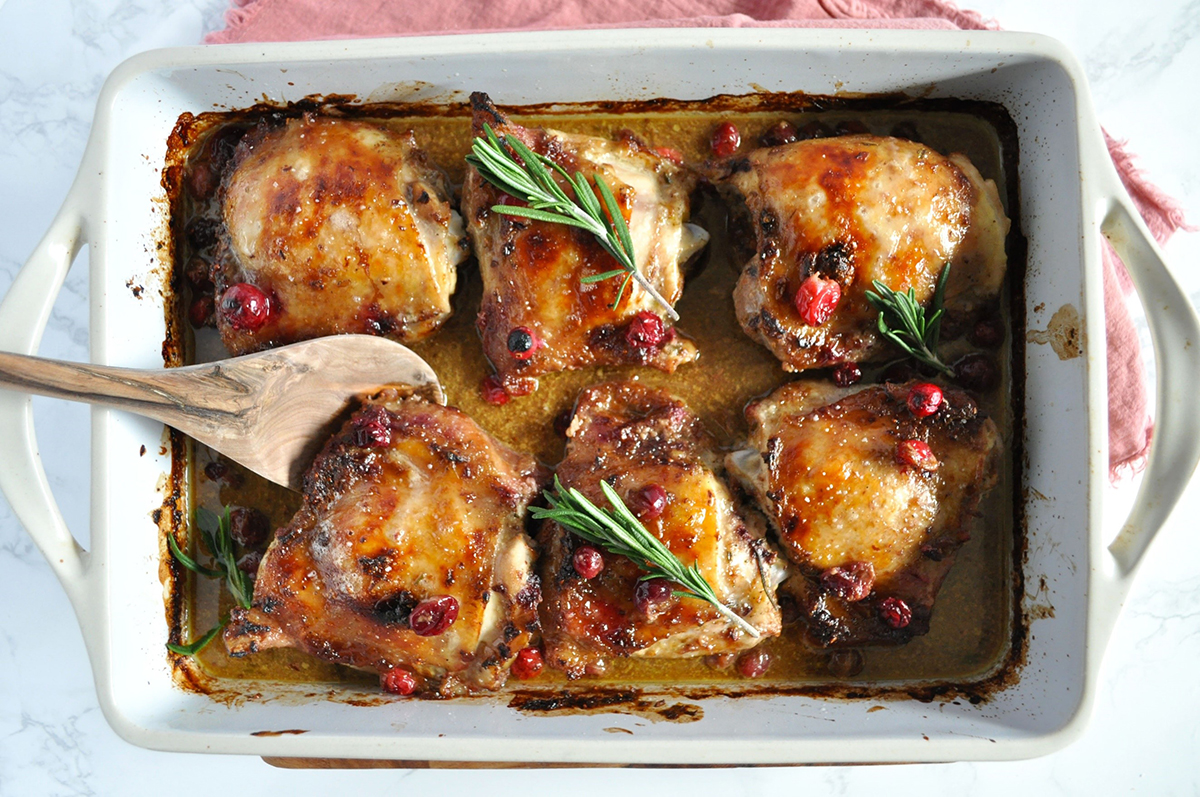 Cranberry Rosemary Chicken