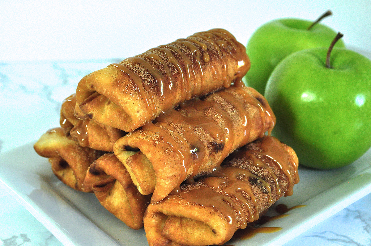 Caramel Apple Chimichangas