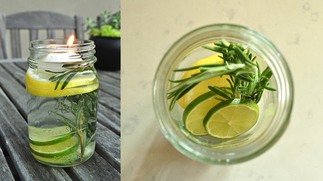 DIY Mosquito Repellent Candle