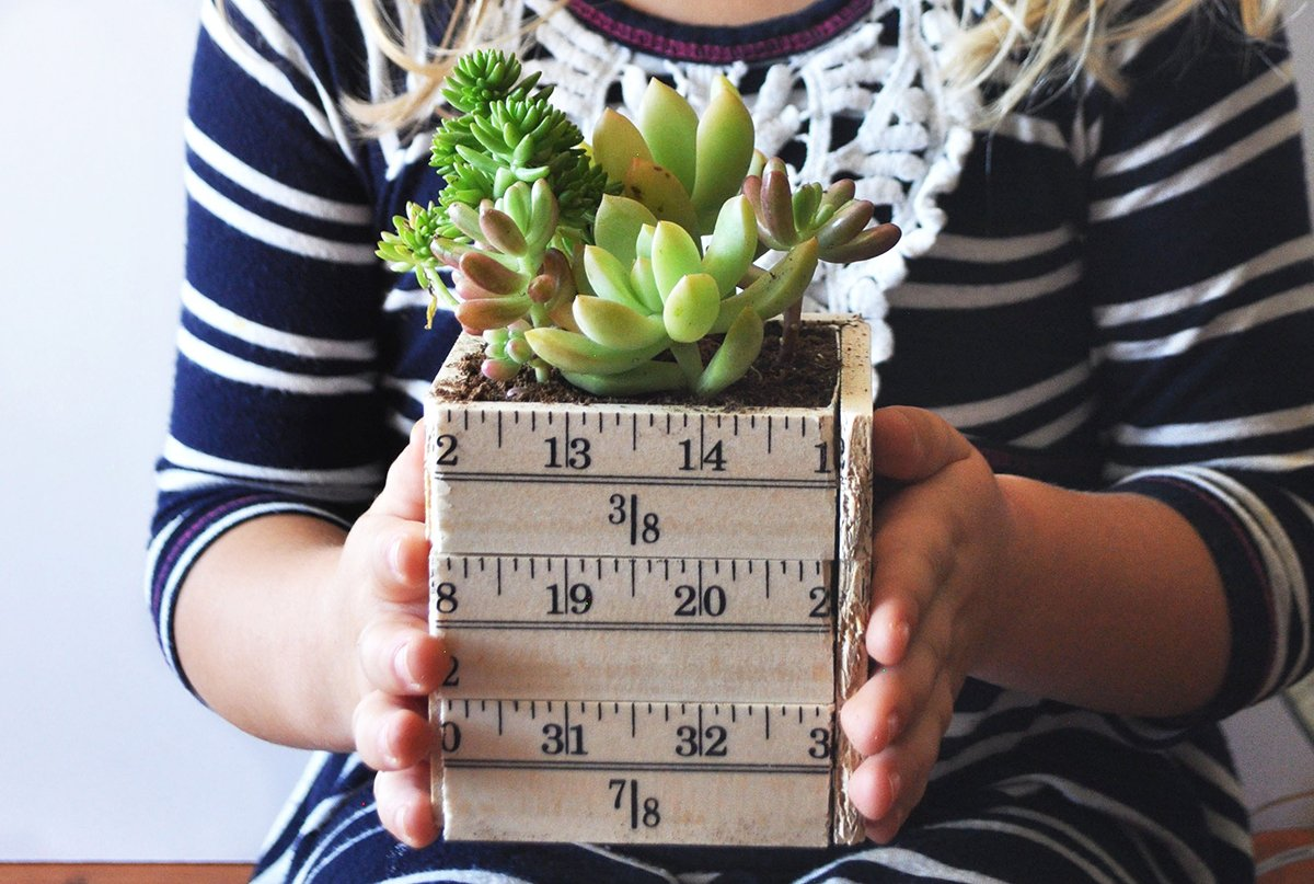 Succulent Holder | Teacher Gift