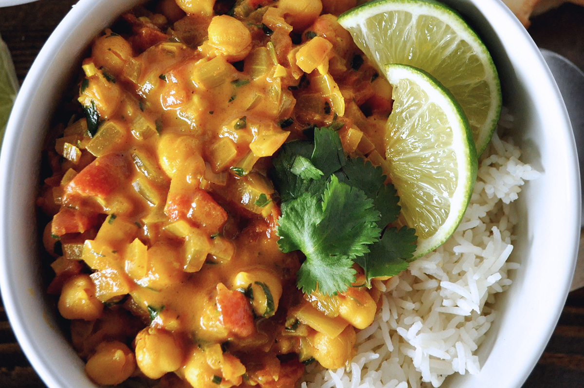 Vegan Chickpea Coconut Curry